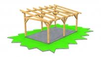 Garážová stání dřevěná